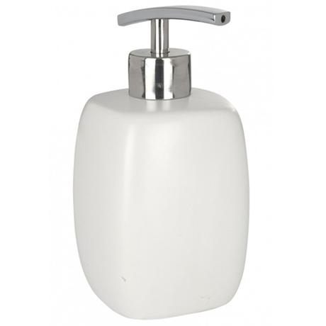 Wenko Faro Ceramic Soap Dispenser - White - 20020100