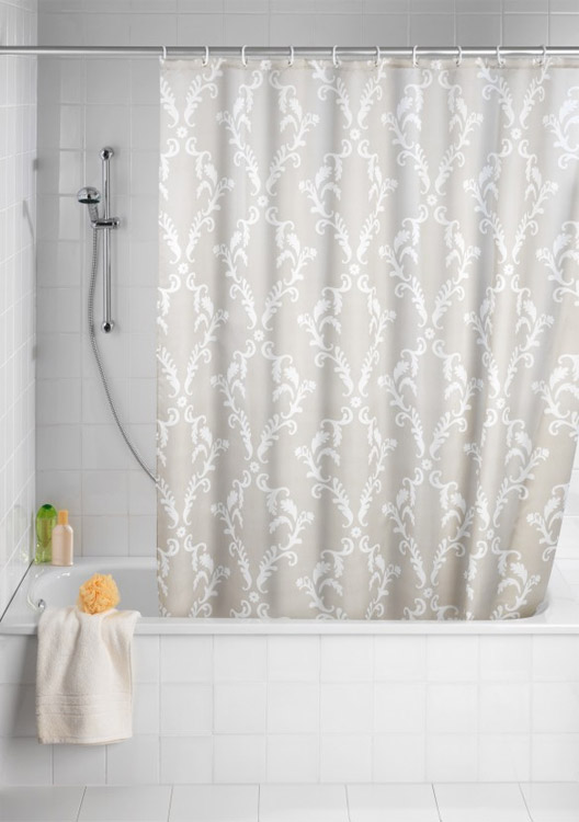 Wenko Baroque Polyester Shower Curtain At Victorian