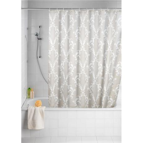 Wenko Baroque Polyester Shower Curtain - W1800 x H2000mm - 20048100