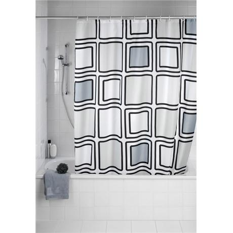 Wenko Mono Polyester Shower Curtain -W1800 x H2000mm - 20049100