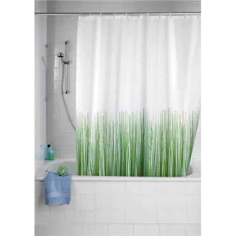 Wenko Nature Polyester Shower Curtain - W1800 x H2000mm - 20060100