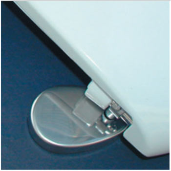 Bemis - 2006ST Toilet Seat with Stainless Steel Hinges - 2006ST000 Profile Large Image