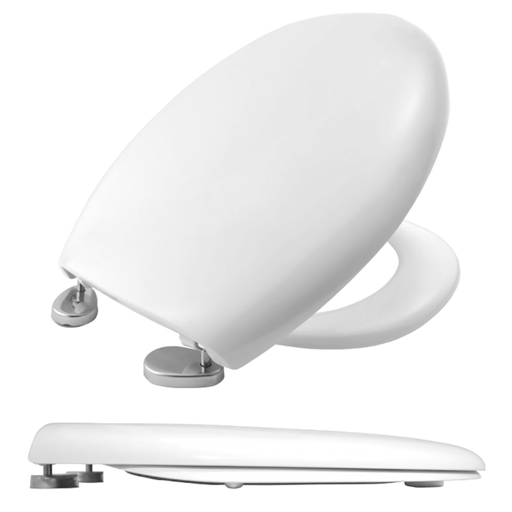 Bemis - 2006ST Toilet Seat with Stainless Steel Hinges - 2006ST000