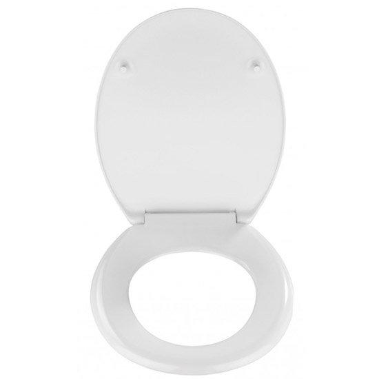 Wenko London 3D Design Duroplast Soft Close Toilet Seat - 20073100 profile large image view 3