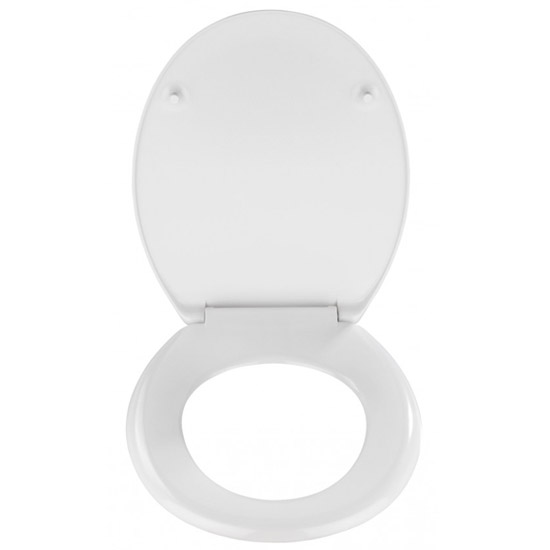 Wenko New York 3D Design Duroplast Soft Close Toilet Seat - 20074100 profile large image view 3