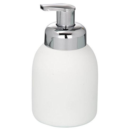 Wenko Bottle Ceramic Foam Dispenser - White - 20089100 Large Image