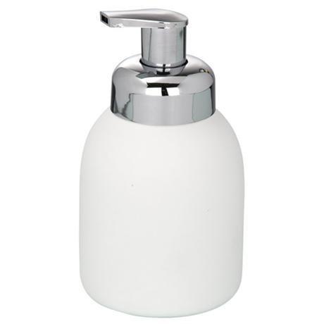 Wenko Bottle Ceramic Foam Dispenser - White - 20089100