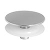 Tap Hole Stopper ABS Chrome Plated profile small image view 1