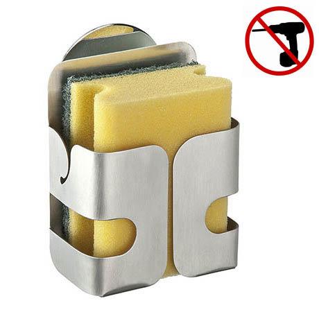 Wenko Turbo-Loc Stainless Steel Sponge Holder - 2020040100