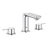 Grohe Lineare 3-Hole Basin Mixer with Pop-up Waste - 20304001 profile small image view 1