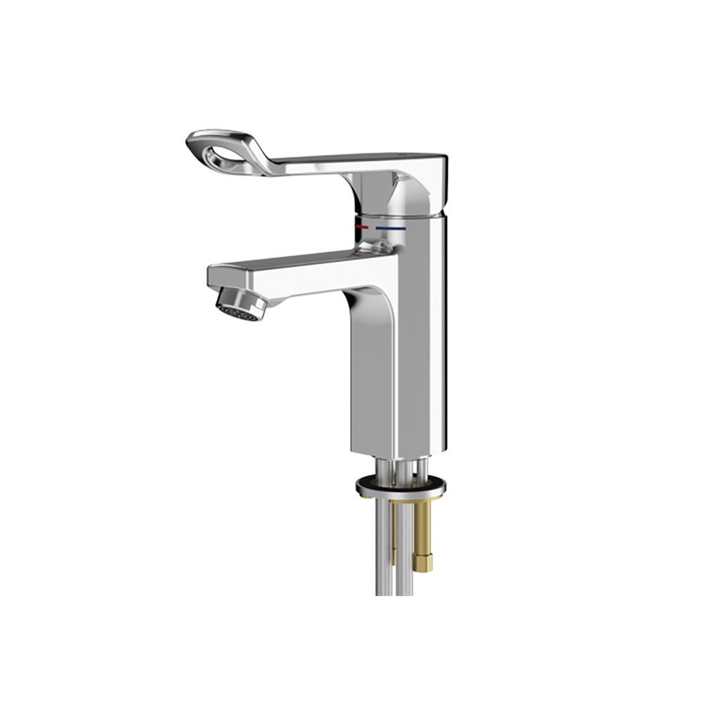 Franke F5LM1010 Thermostatic Pillar Mixer for accessible washing facilities