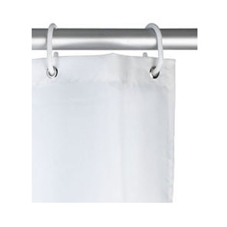 Wenko Marine Polyester Shower Curtain - W1800 x H2000 - White - 20964100 profile large image view 3