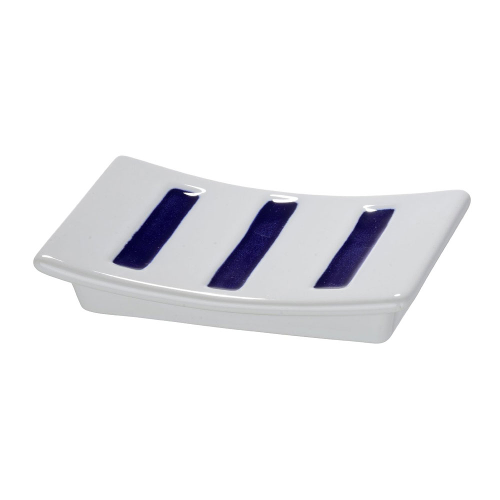 Wenko Marine Ceramic Soap Dish - White - 21052100 Large Image