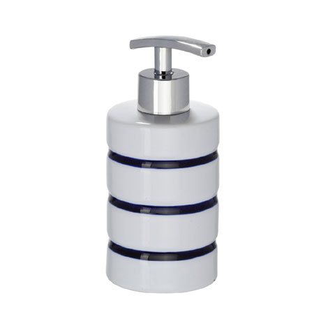 Wenko Marine Ceramic Soap Dispenser - White - 21053100