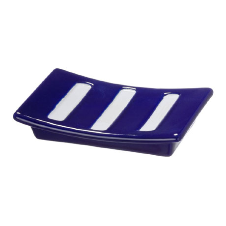 Wenko Marine Ceramic Soap Dish - Blue - 21056100