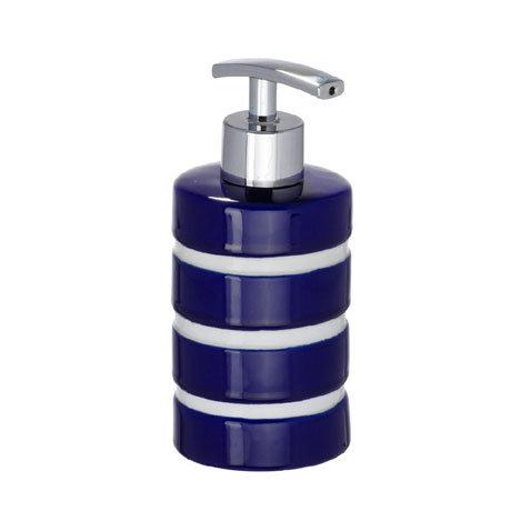 Wenko Marine Ceramic Soap Dispenser - Blue - 21057100
