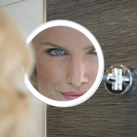 HIB Eclipse Round LED Magnifying Mirror - 21100 profile large image view 2