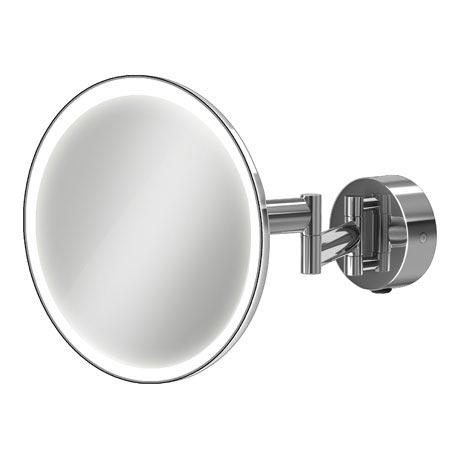 HIB Eclipse Round LED Magnifying Mirror - 21100