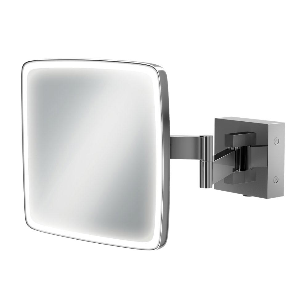 HIB Eclipse Square LED Magnifying Mirror - 21200 Large Image