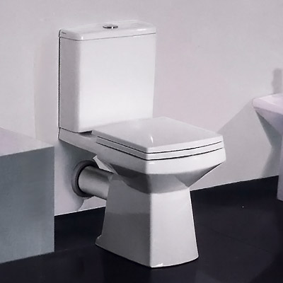 large square toilet seat. New Zeto Square Close Coupled Modern Toilet With Soft Seat At  Victorian Plumbing UK