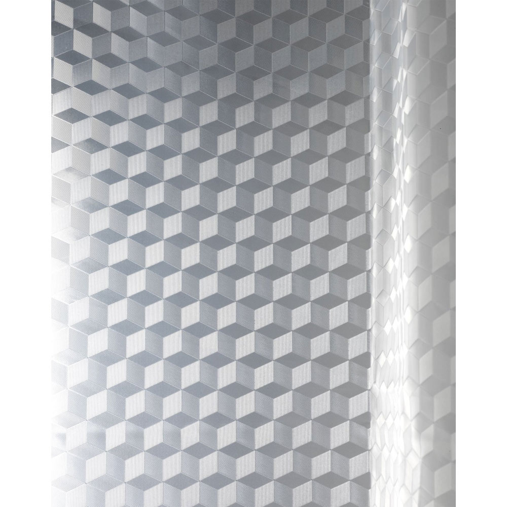 Wenko Infinity PEVA 3D Shower Curtain - W1800 x H2000mm - 21270100 profile large image view 2