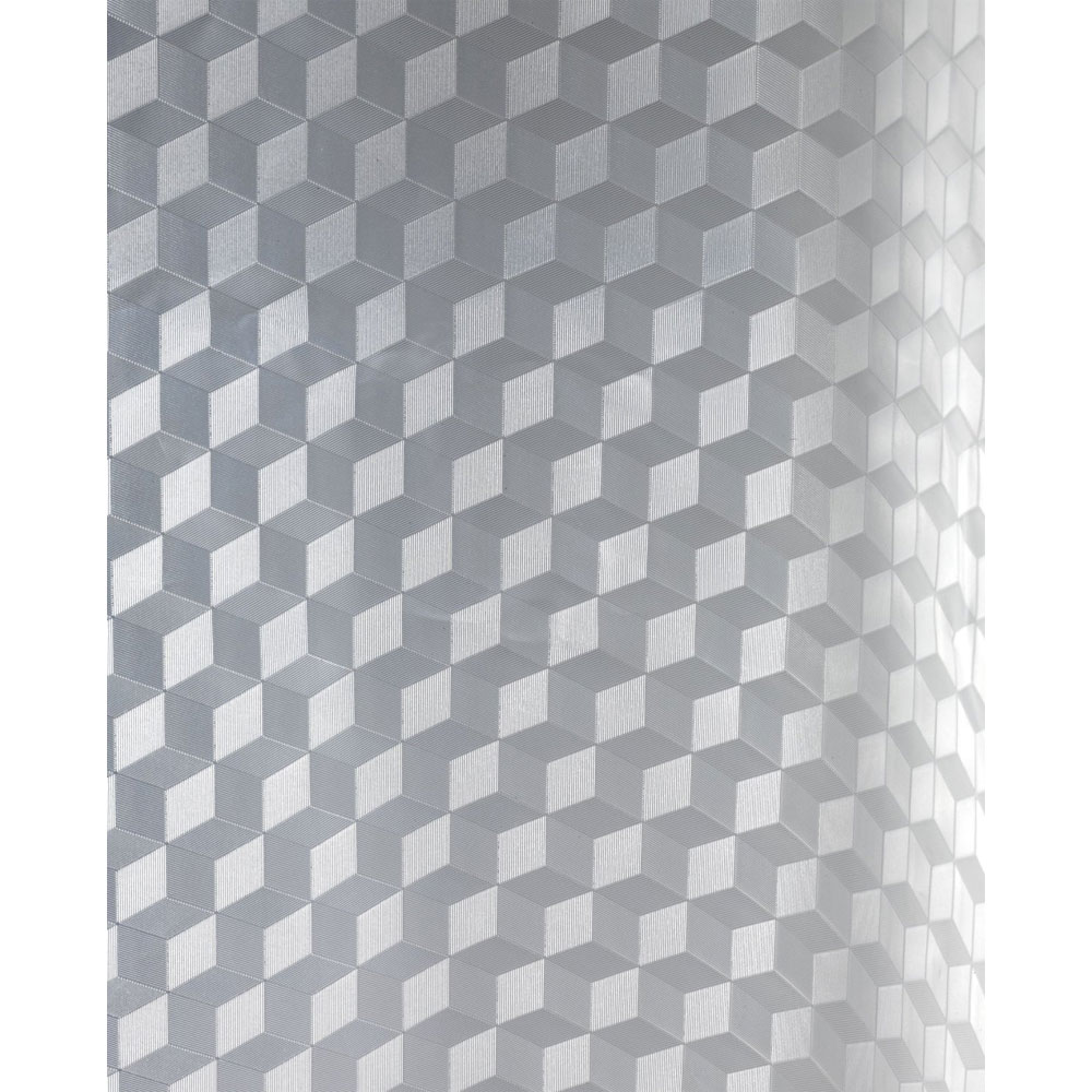 Wenko Infinity PEVA 3D Shower Curtain - W1800 x H2000mm - 21270100 profile large image view 3