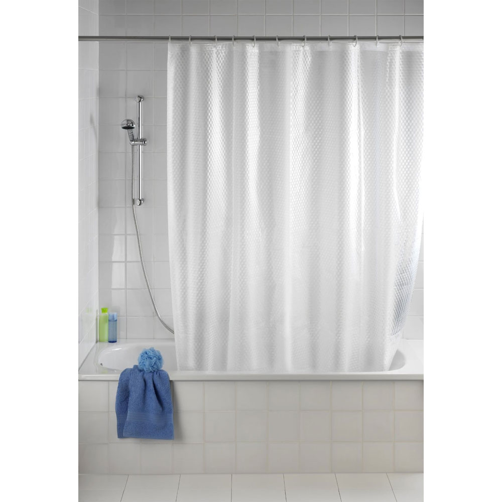 Wenko Infinity PEVA 3D Shower Curtain - W1800 x H2000mm - 21270100 profile large image view 4
