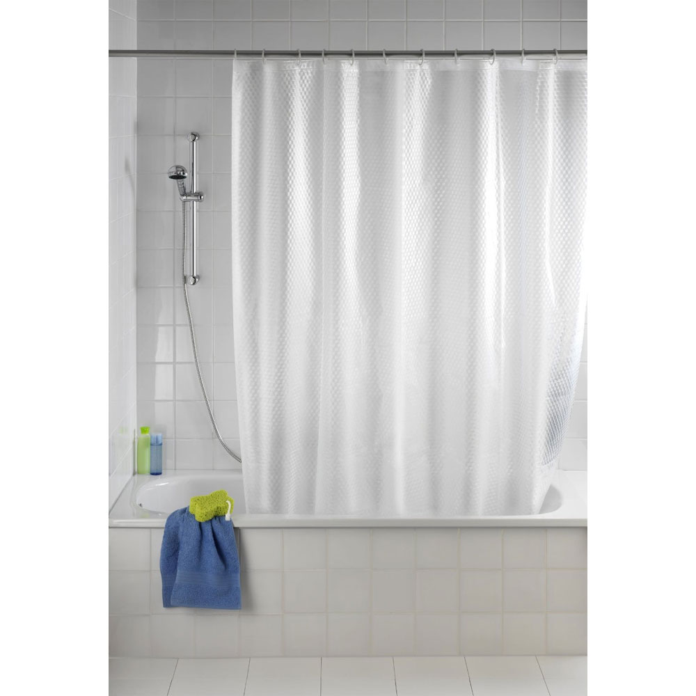 Wenko Infinity PEVA 3D Shower Curtain - W1800 x H2000mm - 21270100 Large Image