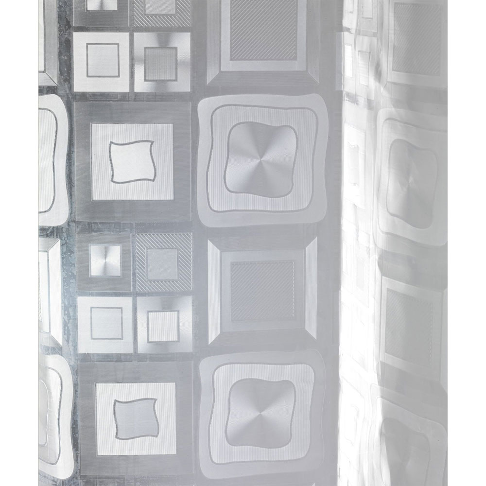 Wenko Retro PEVA 3D Shower Curtain - W1800 x H2000mm - 21271100 Standard Large Image