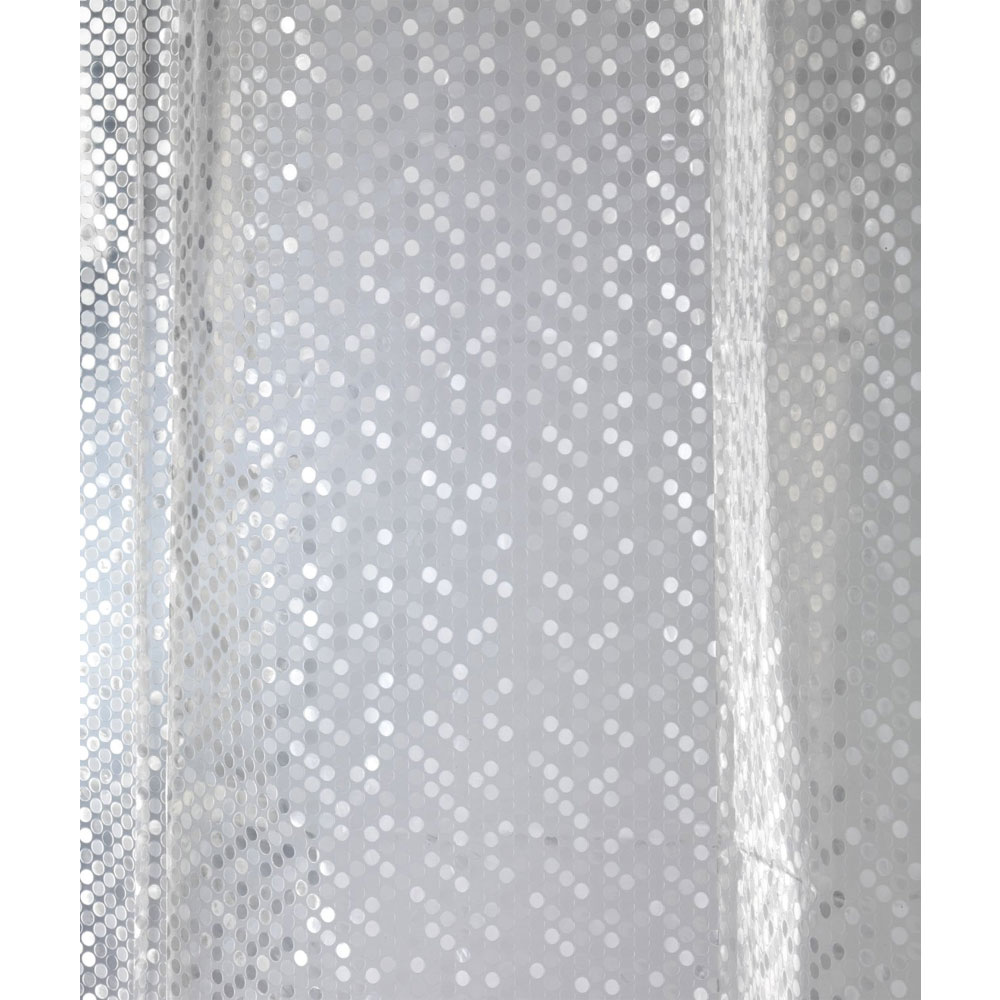 Wenko Stamp PEVA 3D Shower Curtain - W1800 x H2000mm - 21272100 profile large image view 4