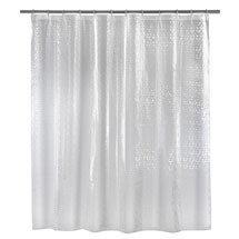 Wenko Stamp PEVA 3D Shower Curtain - W1800 x H2000mm - 21272100 Medium Image