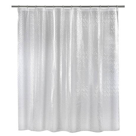 Wenko Stamp PEVA 3D Shower Curtain - W1800 x H2000mm - 21272100