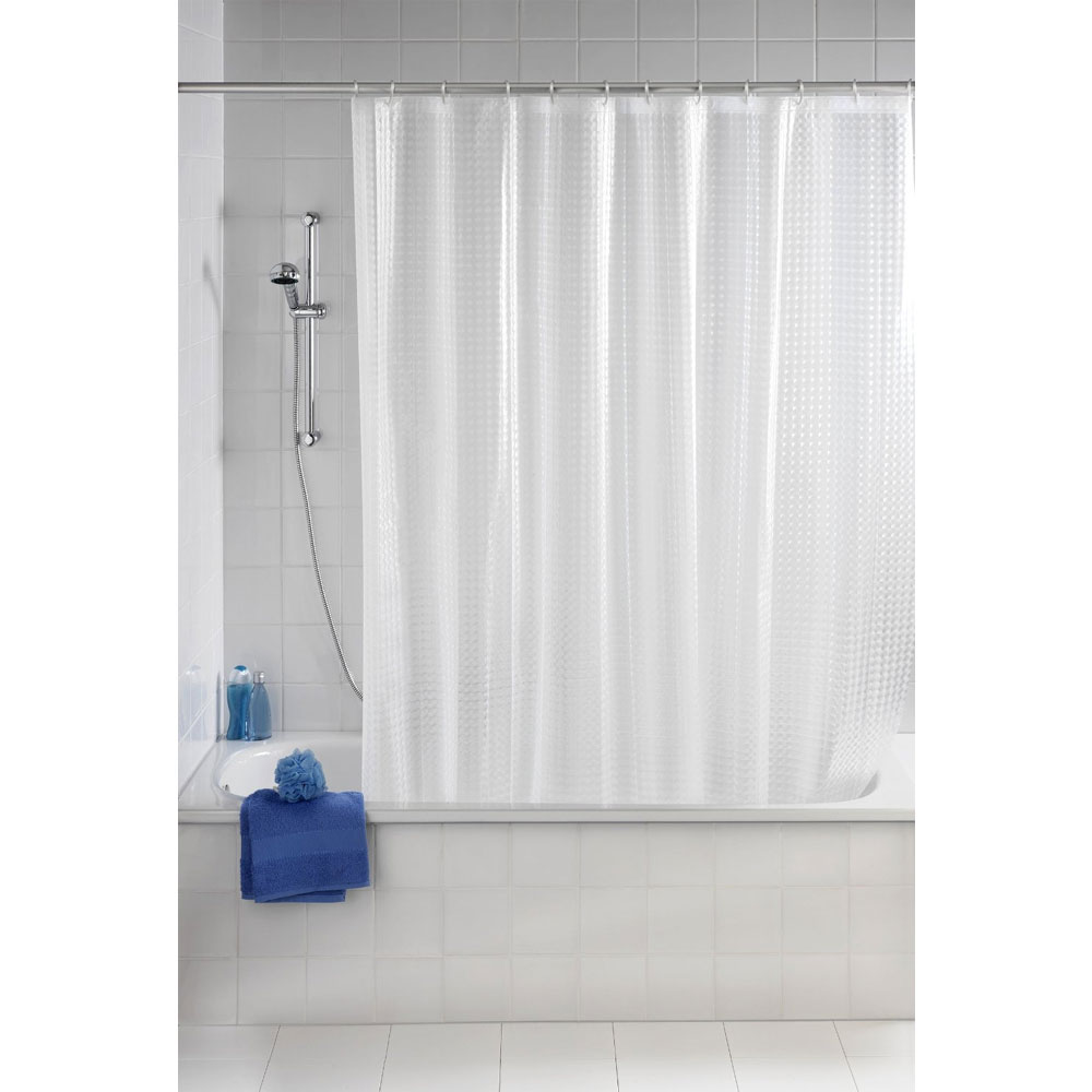 Wenko Disco PEVA 3D Shower Curtain - W1800 x H2000mm - 21273100 profile large image view 2