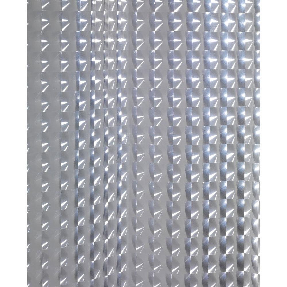 Wenko Disco PEVA 3D Shower Curtain - W1800 x H2000mm - 21273100 Standard Large Image