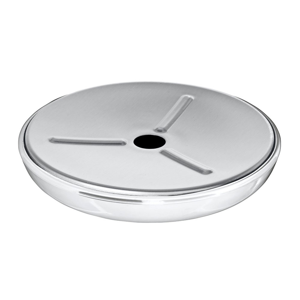 Wenko Loft Stainless Steel and Plastic Soap Dish - 21280100 Large Image
