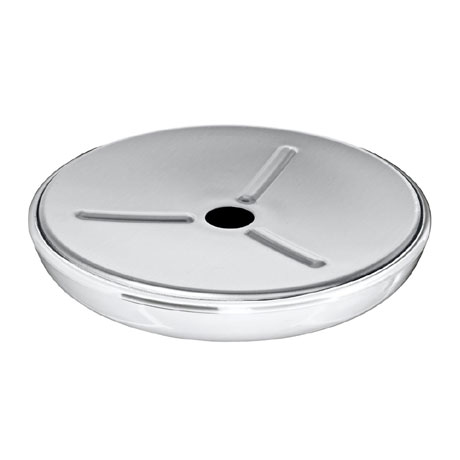 Wenko Loft Stainless Steel and Plastic Soap Dish - 21280100