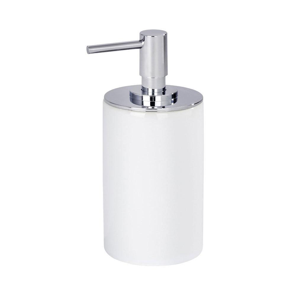 Wenko Polaris Neo Ceramic Soap Dispenser - White - 21651100 profile large image view 2