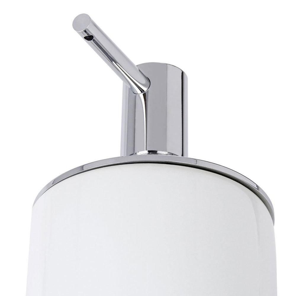 Wenko Polaris Neo Ceramic Soap Dispenser - White - 21651100 Feature Large Image