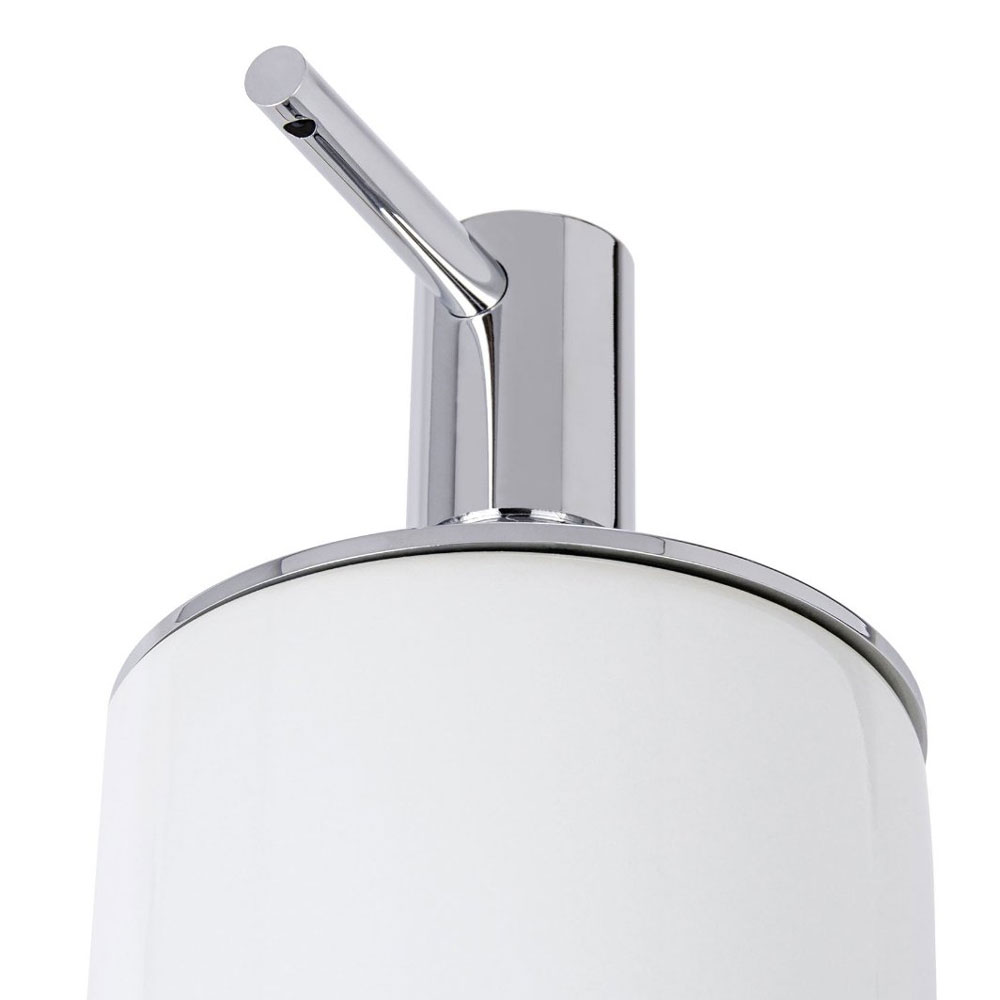 Wenko Polaris Neo Ceramic Soap Dispenser - White - 21651100 profile large image view 3