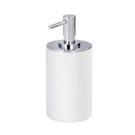 Wenko Polaris Neo Ceramic Soap Dispenser - White - 21651100