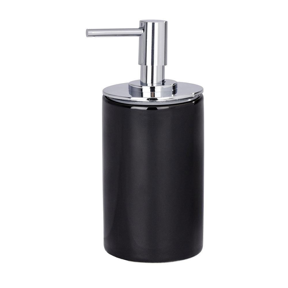 Wenko Polaris Neo Ceramic Soap Dispenser - Black - 21652100 profile large image view 2