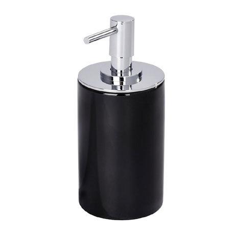 Wenko Polaris Neo Ceramic Soap Dispenser - Black - 21652100