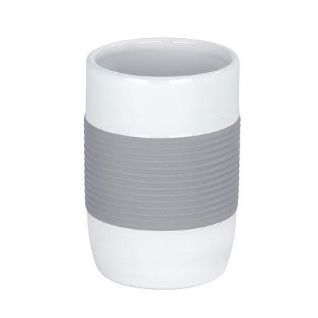 Wenko Bahia Ceramic Tumbler - Grey - 21682100 Profile Large Image