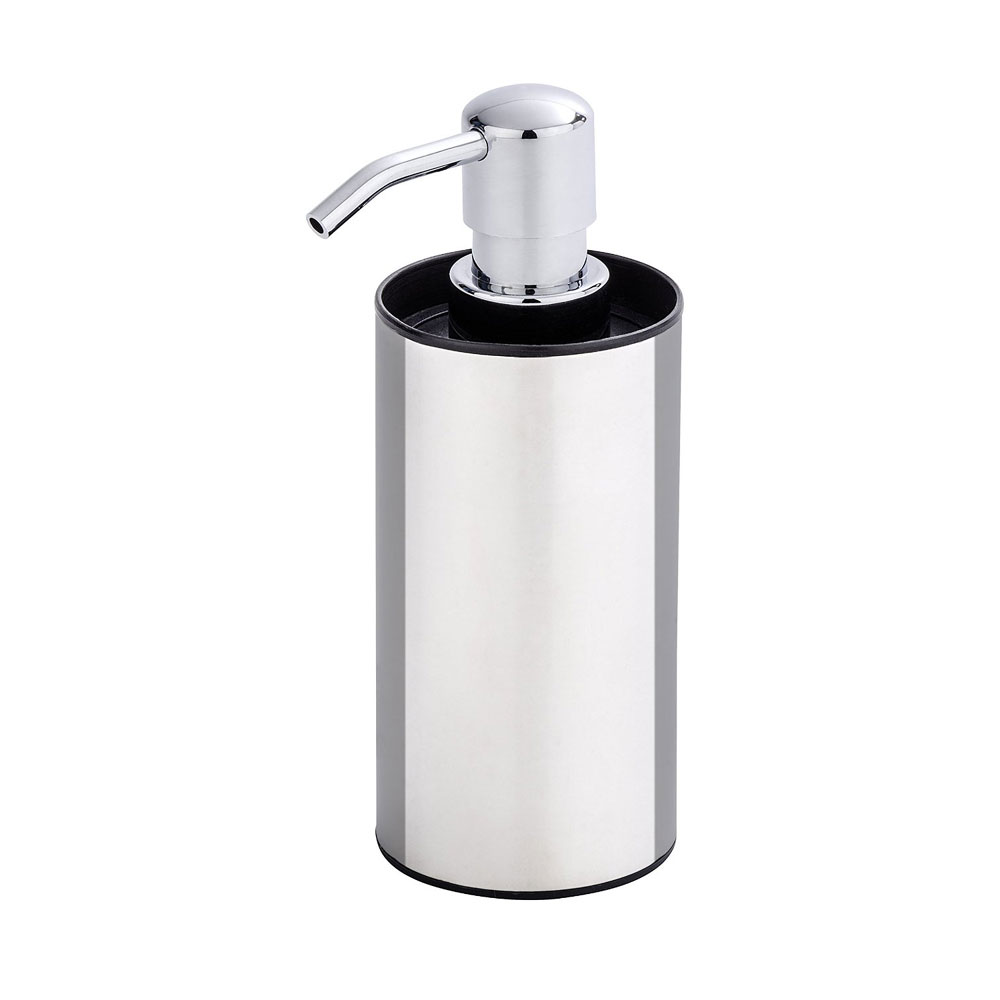 Wenko Detroit Soap Dispenser - Stainless Steel - 21693100 profile large image view 1