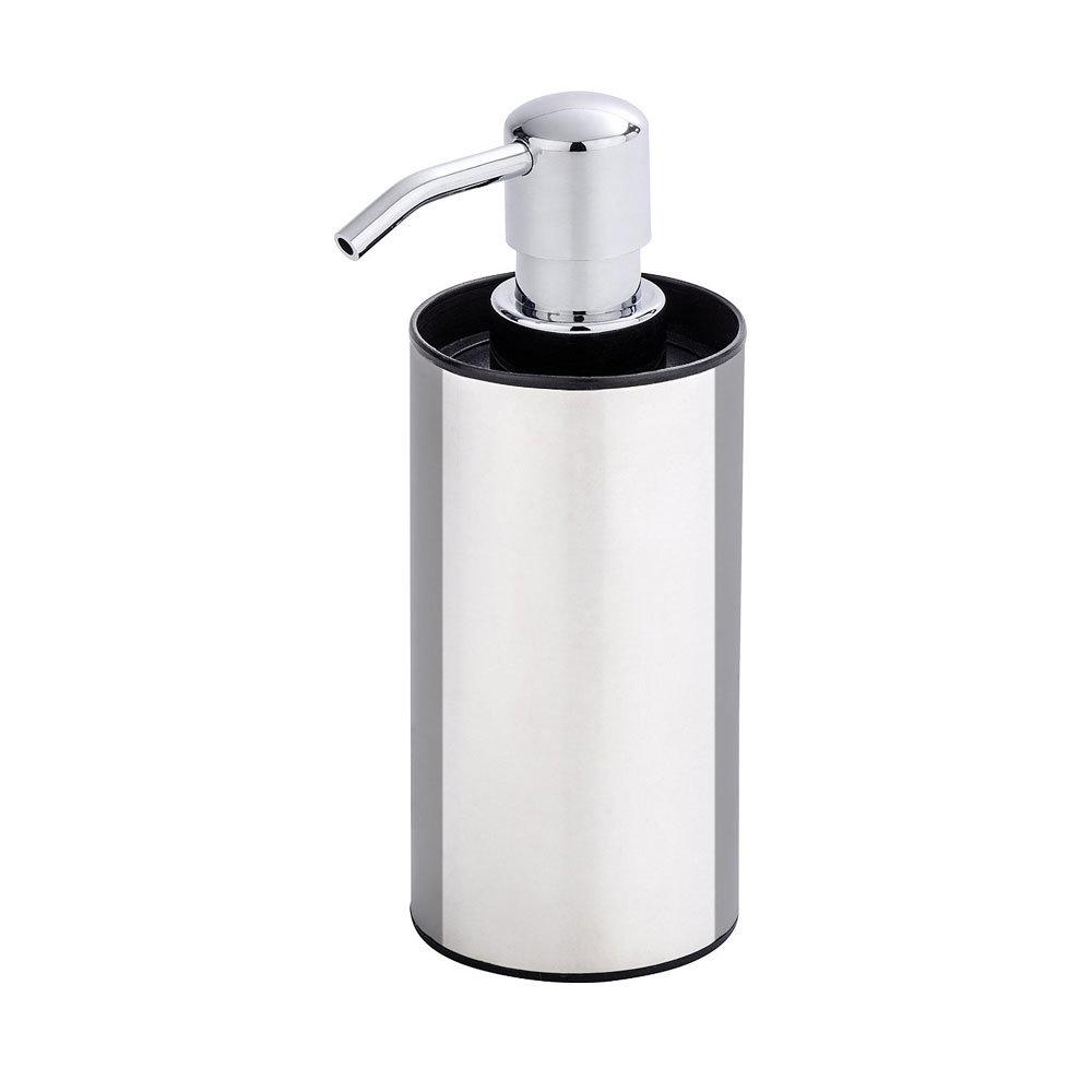 Wenko Detroit Soap Dispenser - Stainless Steel - 21693100 Large Image