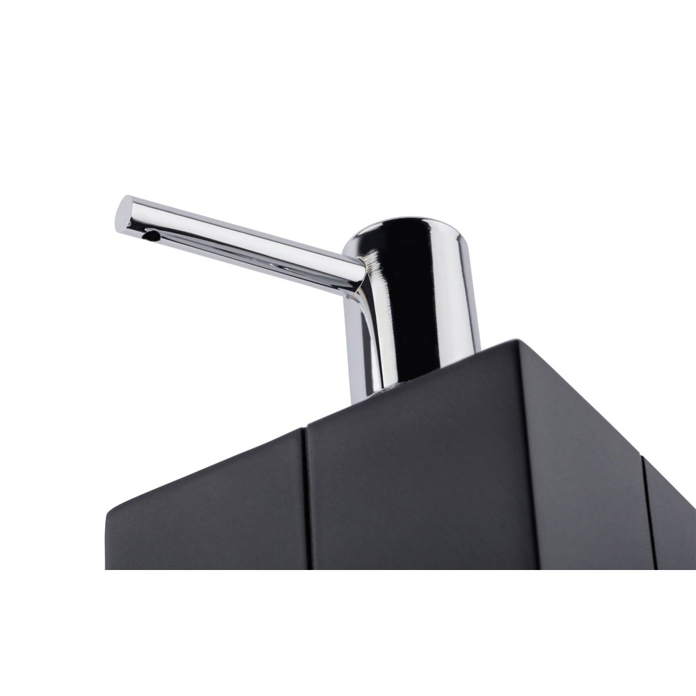 Wenko Houston Soap Dispenser - Black - 21707100 profile large image view 2