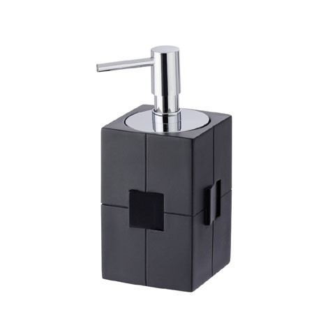 Wenko Houston Soap Dispenser - Black - 21707100