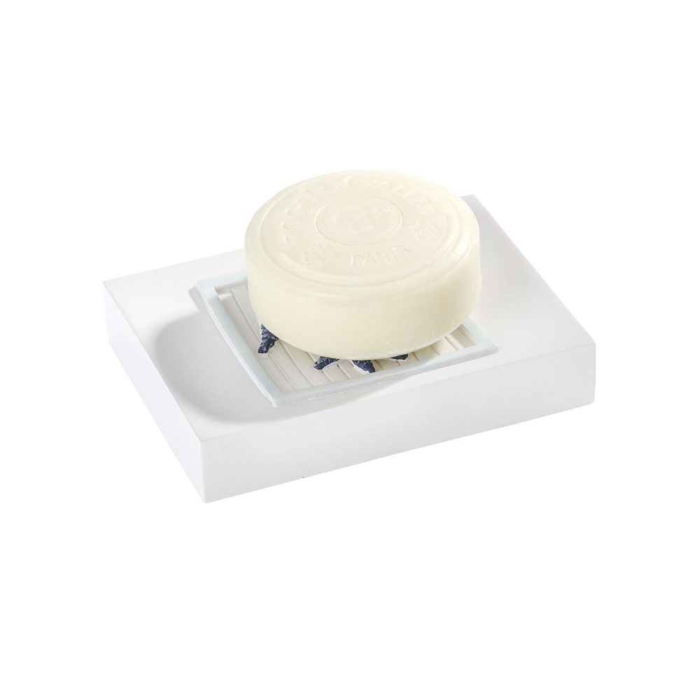 Wenko Nautic Soap Dish - 21709100 Profile Large Image