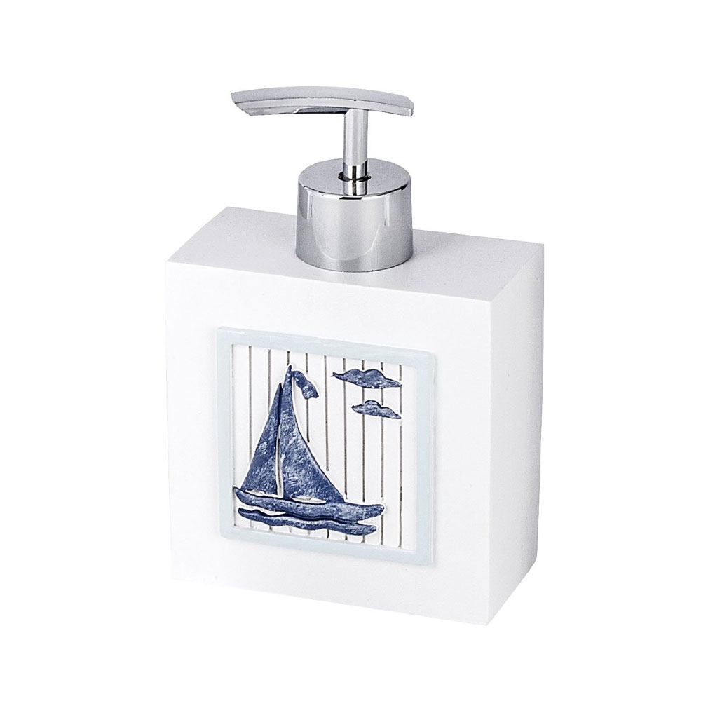 Wenko Nautic Soap Dispenser - 21711100 Large Image