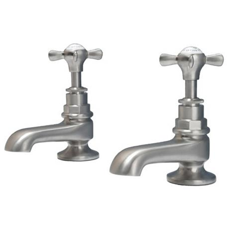 Hollys of Bath Pillar Chrome Bath Taps